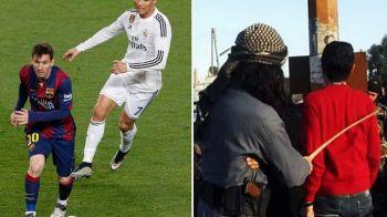 SOCANT!Teroristii de la ISIS au interzis fotbalul! Ce au patit cei care s-au uitat la Barcelona - Real Madrid