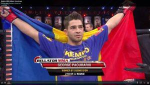Performanta URIASA pentru un roman! George Pacurariu a obtinut in aceasta dimineata cea mai mare performanta din istoria MMA-ului romanesc