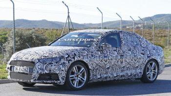 FOTO Noul Audi A4, surprins la teste fara deghizare! Ce surprize pregatesc nemtii pentru aceasta toamna