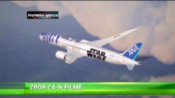 Surpriza URIASA pe aeroport! Cum arata avionul STAR WARS si cati oameni au muncit la el