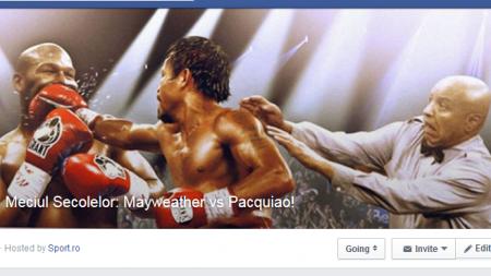 #TeamMayweather sau #TeamPacquiao? Da JOIN la Meciul Secolelor si fii parte din ISTORIE!