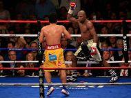 Prima imagine cu Mayweather dupa batalia cu Pacquiao! Cum arata americanul la 48 de ore de la MECIUL SECOLULUI? FOTO