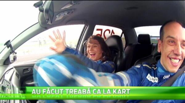 Romania nu renunta la visul de a avea intr-o zi un pilot in Formula 1! Aparitie surpriza la nationalele de karting! :) VIDEO