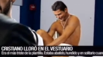 BOMBA! Gestul unic al lui Ronaldo la vestiare! Spaniolii au aflat ce s-a intamplat dupa meciul cu Juve! VIDEO