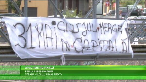 Clujul e gata sa INVADEZE Bucurestiul! Cate bilete s-au dat pentru finala cu Steaua de pe National Arena