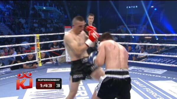 Ciobanul Nastase pierde meciul cu ungurul Benedek Zsolt la decizie