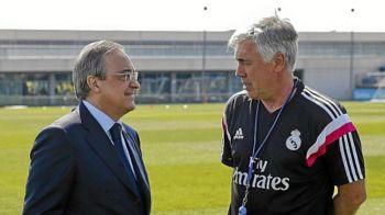 """Ancelotti, DAT AFARA de la Real Madrid! Florentino Perez: """"Avem nevoie de un nou impuls"""" Ce spune despre noul antrenor"""