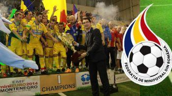 Nationala trece la echipamentul de MINIfotbal! Dupa 45 de ani, Romania are alt sponsor tehnic! Cati bani incaseaza FRF