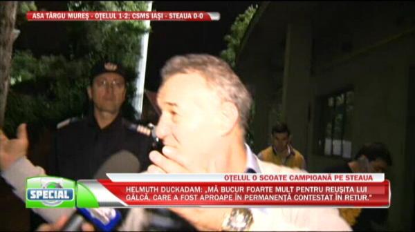 Prima reactie a lui Gigi Becali dupa ce a castigat titlul 26 cu Steaua! VIDEO
