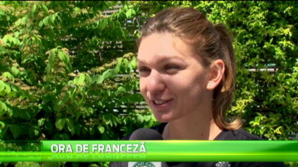 VIDEO SENZATIONAL! Simona, cum n-a mai acceptat niciodata sa fie filmata! Ce a facut la Paris