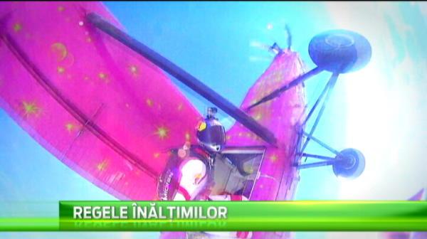 Duminica la Sport ProTV 20:00! Povestea incredibila a celui mai bun parasutist din Romania. A ajuns in trupele de elita la 58 ani