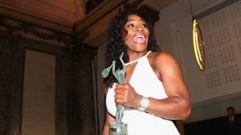 Serena Williams, imbracata asa cum o vezi mai rar! GALERIE FOTO