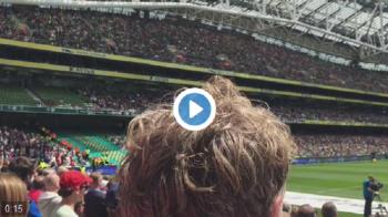 """""""Sepp Blatter, he paid for your ground!"""" Ce rusine au trait astazi irlandezii la meciul cu Anglia VIDEO"""