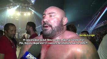 """Hai ma, bateti-va! Pai, fug dupa voi?"" Replica senzationala a lui Sandu Lungu in gala MMA de la Cluj"