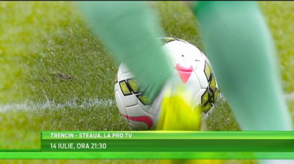 Debutul in Europa al lui Radoi se vede la PRO TV! Cand se joaca Trencin - Steaua