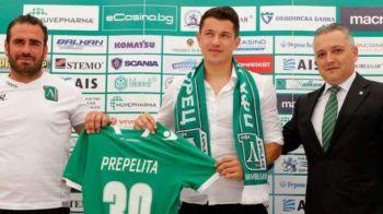 """""""Nu am niciun regret ca plec de la Steaua!"""" Primele declaratii ale lui Prepelita dupa ce a semnat cu Ludogorets"""