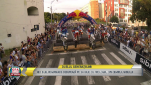 Pe locuri, fiti gata, START! Incepe Red Bull Romaniacs la Sibiu! Jarvis vine sa-si ia revansa dupa infrangerea de anul trecut