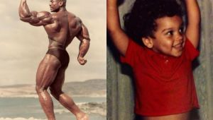 Sergio Oliva a fost unul dintre cei mai musculosi oameni de pe planeta. Cum a ajuns sa arate fiul sau cand a crescut mare - FOTO