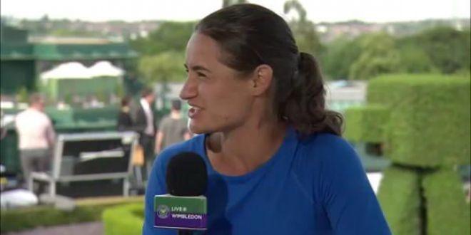Sunt smechera, UNICA!  Monica Niculescu a facut SHOW cu Mats Wilander la Wimbledon! VIDEO