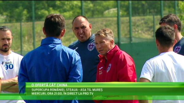 OFERTA de ULTIMA ORA pentru Dan Petrescu din China! Super Dan poate sa PLECE de la ASA dupa Supercupa cu Steaua!