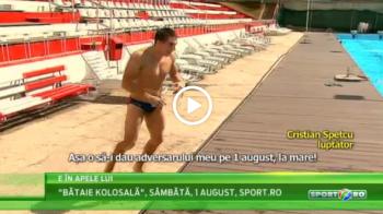 Isi baga adversarii la apa   Romanul care a renuntat la polo dupa 10 ani ca sa intre in ringul de kickboxing! VIDEO