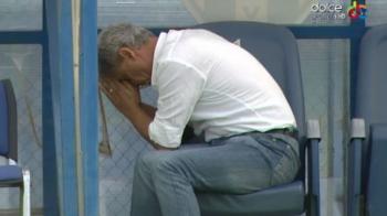 Imaginea etapei in Liga I! Cartu nu a putut sa se uite la penalty-ul ratat de Ferfelea. Cum a urmarit executia