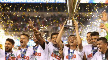 VIDEO & FOTO | Mexic, campioana Gold Cup 2015, dupa o finala nebuna cu Jamaica, disputata in fata a 70 de mii de oameni