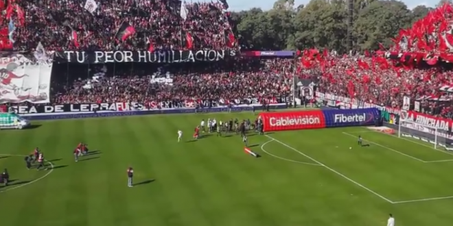 N-ai vazut asa ceva pe stadion! NEBUNIE in Argentina. Ce s-a intamplat in tribune la derby-ul Newell s - Rosario Central