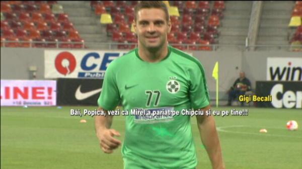 Dialog SENZATIONAL intre Becali si Popa inaintea meciului Stelei! Scene nedifuzate de pe National Arena. Ce a strigat Becali