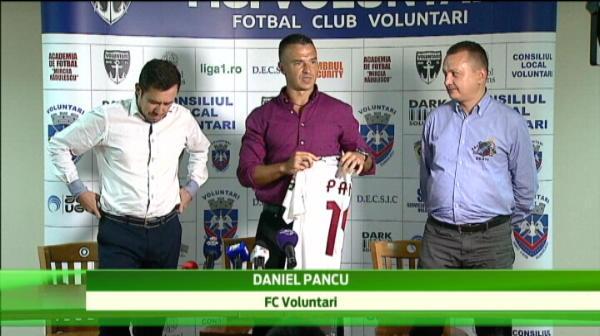 Pancu, prezentare IN LACRIMI la Voluntari! Ce clauza senzationala si-a trecut in contract