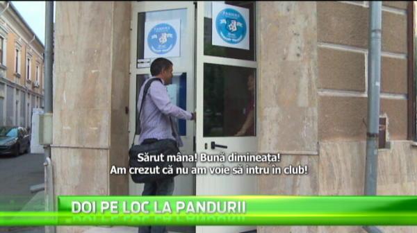Doi pe loc in conducerea clubului Pandurii: Parvulescu vrea atributiile lui Narcis Raducan
