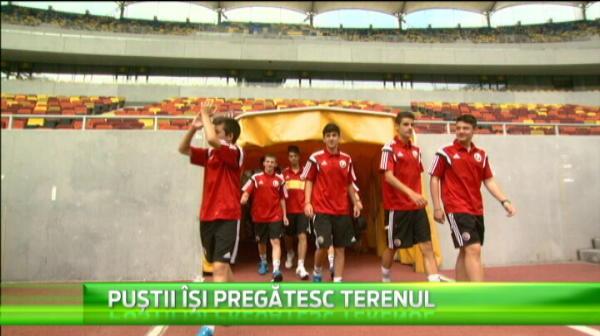 VIDEO Pustii nationalei, vacanta de vis pe National Arena! PRIMA generatie care se pregateste sa joace la EURO in Romania