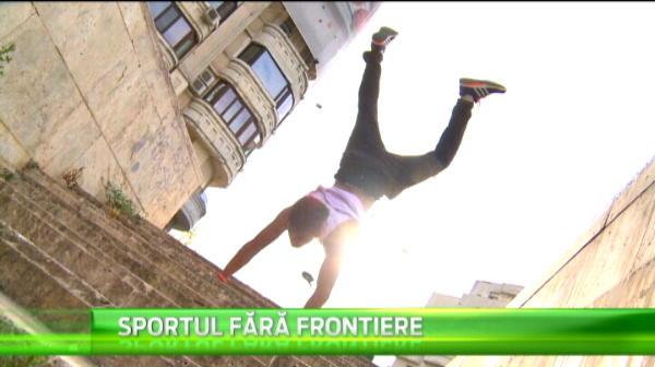 "SUPER IMAGINI! Cum se antreneaza practicantii de PARKOUR in Bucuresti! ""Asa ne traim noi viata"" VIDEO"