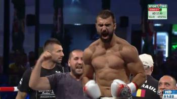 KO SENZATIONAL in direct la Sport.ro! Andrei Stoica ramane campion MONDIAL dupa o lovitura naucitoare! Catinas a revenit in ring cu KO dupa un an si jumatate!