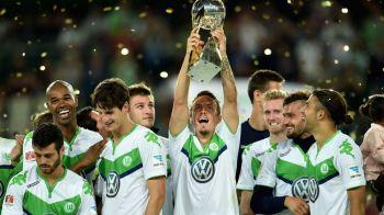 A intrat, a marcat si a castigat | Pep Guardiola pierde a doua Supercupa a Germaniei la rand, dupa ce Bendtner a fost eroul lui Wolfsburg: VIDEO