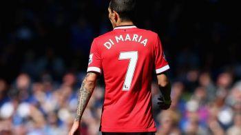 Cine ia istoria in spate dupa plecarea lui Di Maria? Un singur jucator s-a oferit sa poarte tricoul cu numarul 7 la Man United