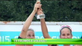 Nemtoaicele au facut legea in turneul de volei pe plaja de la Timisoara! VIDEO