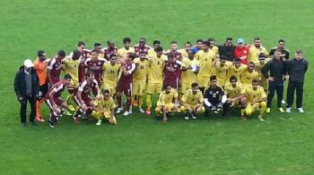 Florin Cioabla a marcat in ultimul minut, Rapid a scos un egal cu Al Ittihad, 1-1! 500 de suporteri pe Giulesti, aplauze pentru Sumudica, proteste la adresa lui Moraru