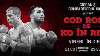 """Bombardierul"" Simion se bate pentru titlul mondial WBF! Gala in care se bate si Ciocan e vineri la Sport.ro si ProTV"