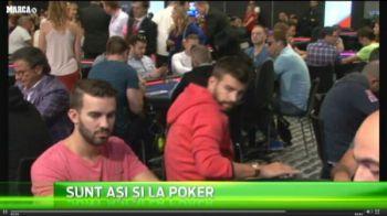 Aparitie SENZATIONALA pentru Neymar si Pique! Au ajuns la Europeanul de Poker. Cum s-au descurcat