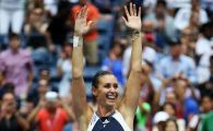 Jucatoarea care a eliminat-o pe Simona Halep, noua campioana de la US Open. Pennetta a invins-o pe Vinci, apoi si-a anuntat retragerea! Halep, mesaj special pentru italianca