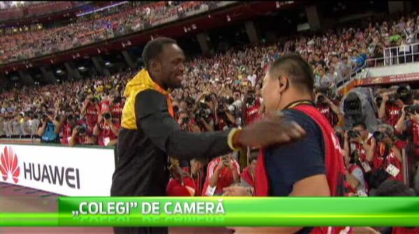 Gestul facut de chinezul care l-a daramat ieri pe Bolt! Ce a facut cand s-a intalnit cu cel mai tare alergator de pe planeta