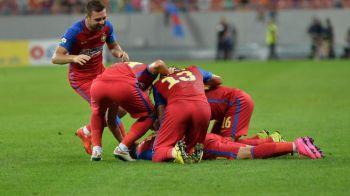Steaua 1-0 Viitorul   EUROGOL Stanciu de la 30m! Chipciu, fluierat la fiecare atingere de minge! Hagi, trimis in tribuna!