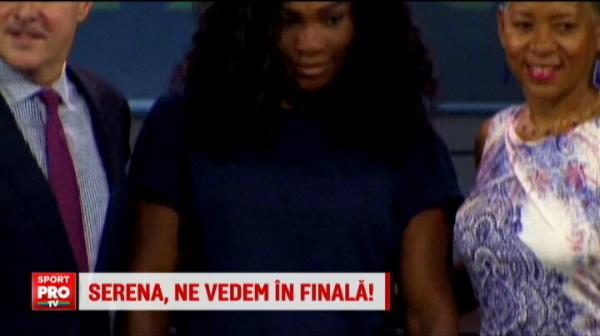 """""""Daca nu castig eu, atunci sa ia Serena trofeul"""". Simona Halep s-a imprietenit cu numarul 1 mondial: VIDEO"""