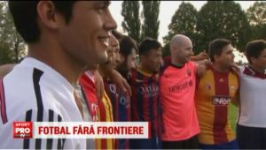 Imigrantii care au luat cu asalt occidentul si-au facut deja echipa de fotbal! Vezi la ce echipa de fotbal joaca - VIDEO