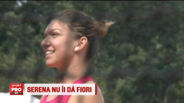 """""""Nu mi-e frica de bau bau"""" - le-a spus Halep americanilor care-o intreaba deja despre posibila finala cu Serena."""