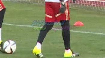 Ce i-a facut De Gea lui Casillas la antrenamentul Spaniei! Nici nu si-a dat seama ce se intampla. VIDEO