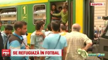 """Imagini incredibile la Budapesta, inaintea meciului Ungaria - Romania. Mii de refugiati din Orientul Mijlociu au """"ocupat"""" orasul: VIDEO"""
