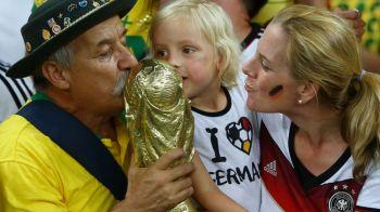 """Fotbalul plange dupa unul dintre cei mai cunoscuti suporteri: celebrul """"Gaucho da Copa"""", fanul care a mers la 7 Campionate Mondiale cu Brazilia, a incetat din viata"""