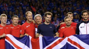 Sarbatoare fabuloasa cu 8000 de fani! Murray trimite Marea Britanie in prima finala de Cupa Davis dupa 37 de ani! Belgia a ajuns in finala dupa 111 ani